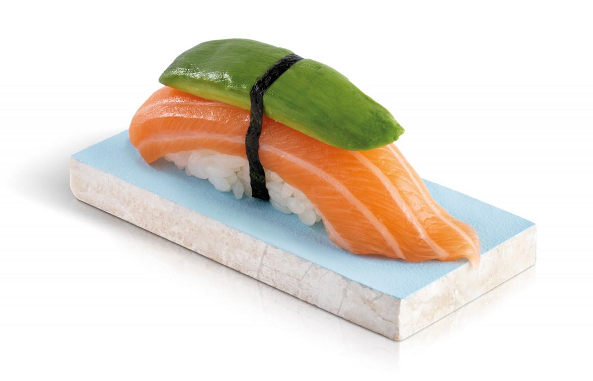 sushi saumon avocat