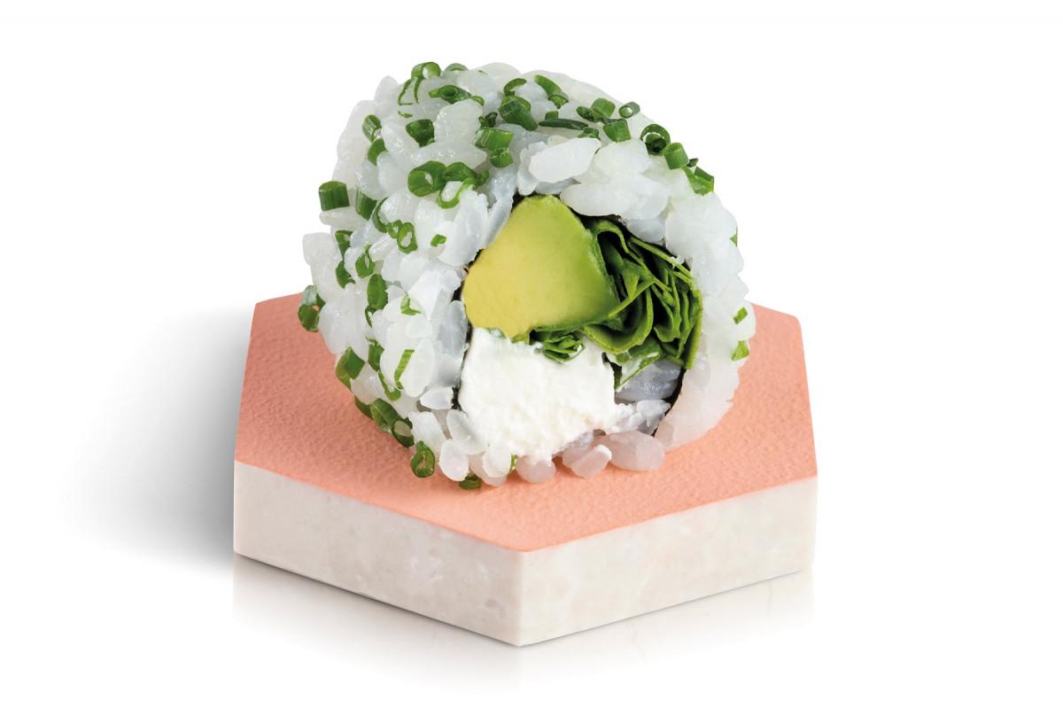 california rolls green veggie