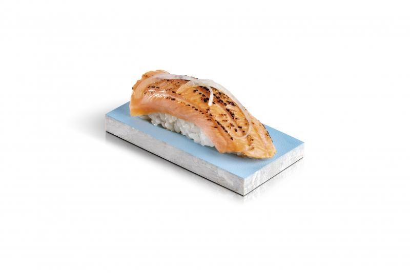 sushi saumon aburi