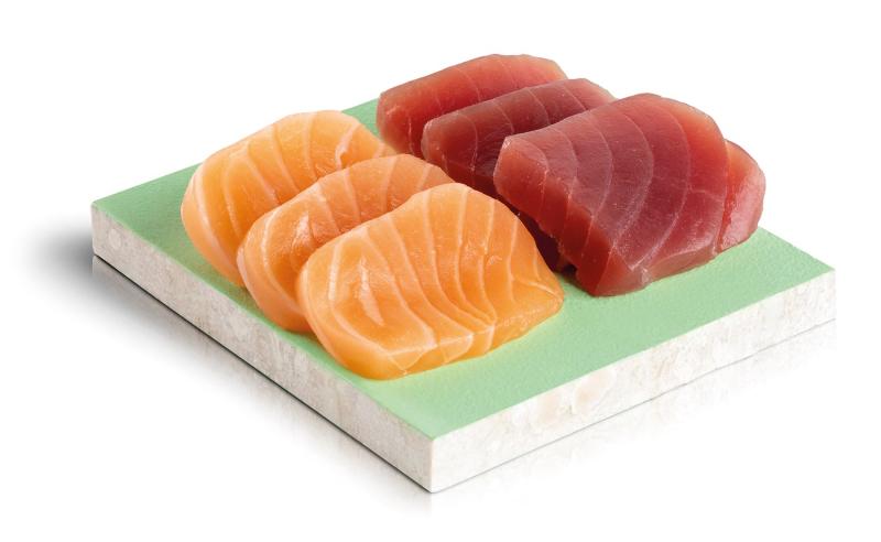 demi sashimi mixte thon saumon
